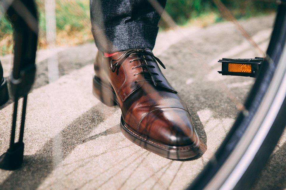 Conseils chaussures ville vélo