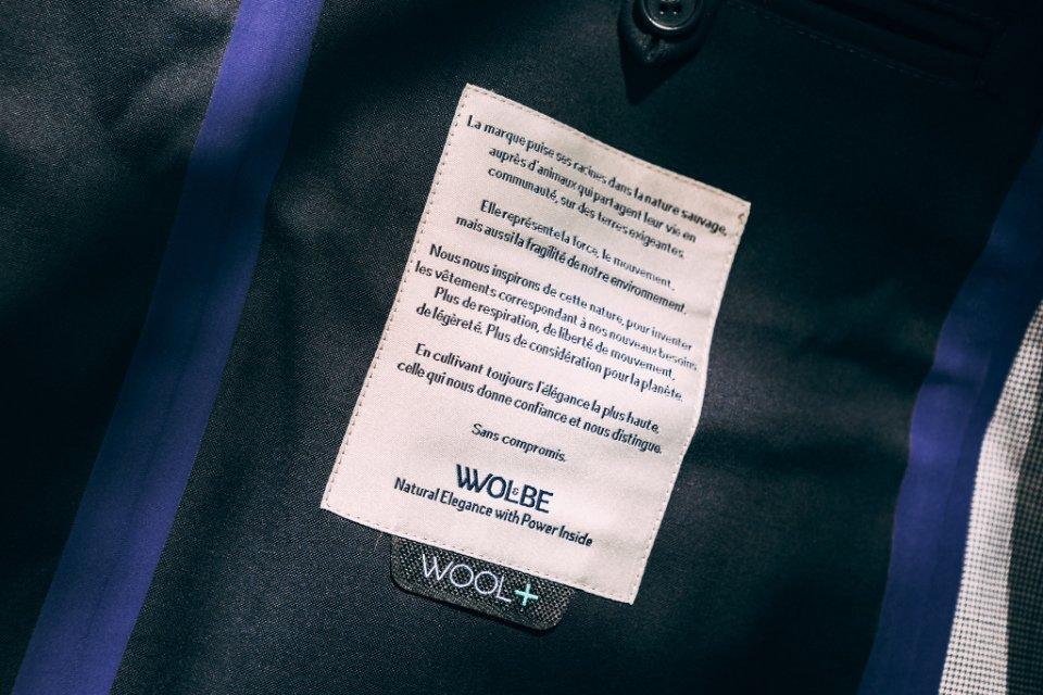 Manteau Wolbe Etiquette Interieure