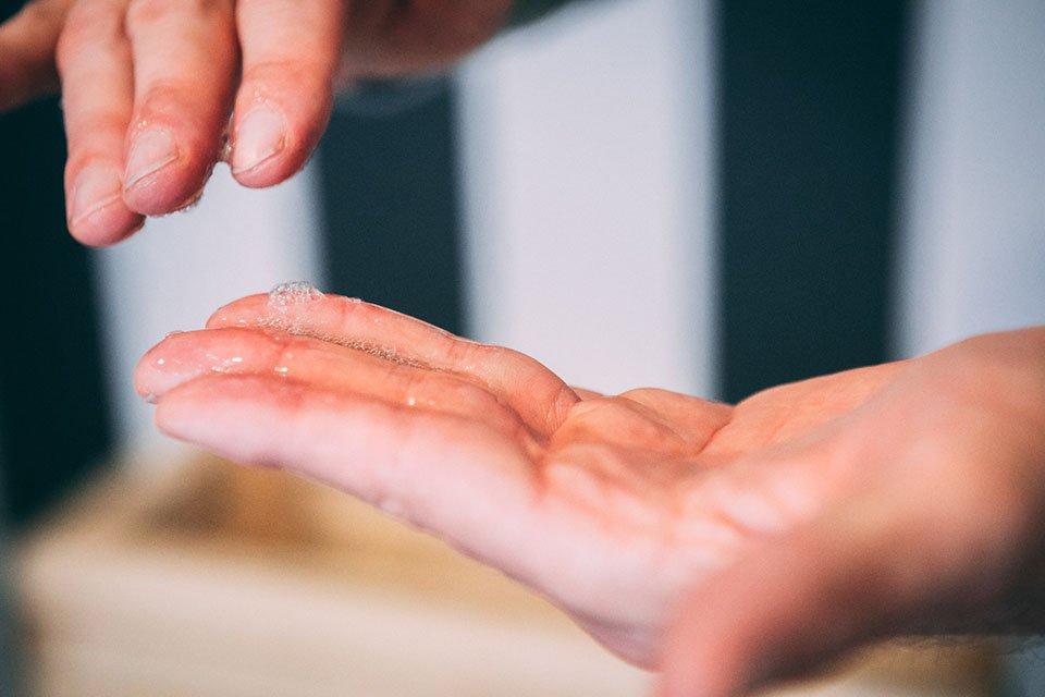 Nettoyant Botak texture petite mousse