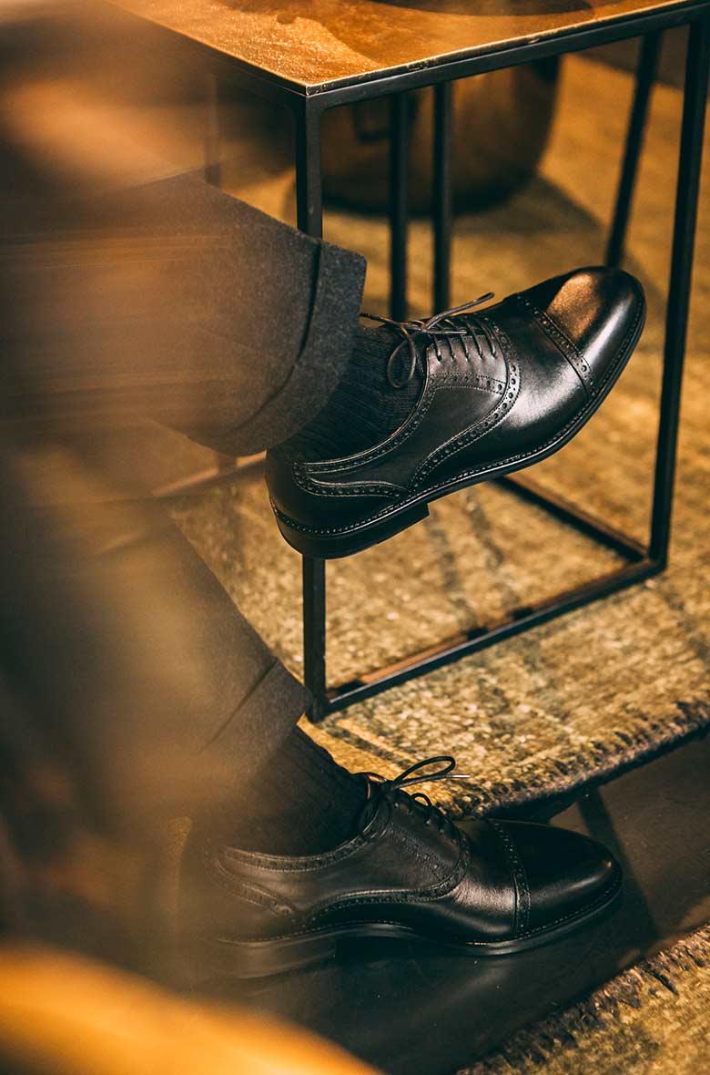 Chaussures Noires Travail