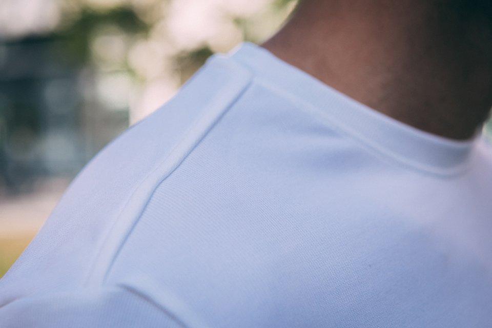 t-shirt sport eco responsables francus test avis epaule