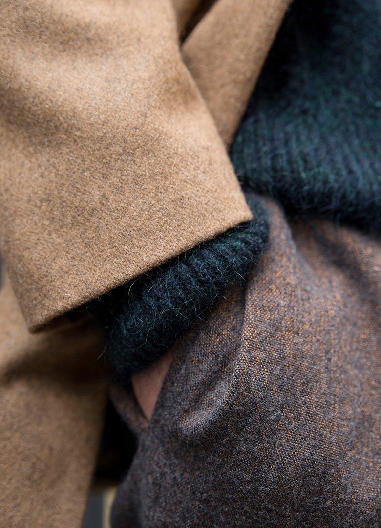 Atelier Loden manteau marron zoom