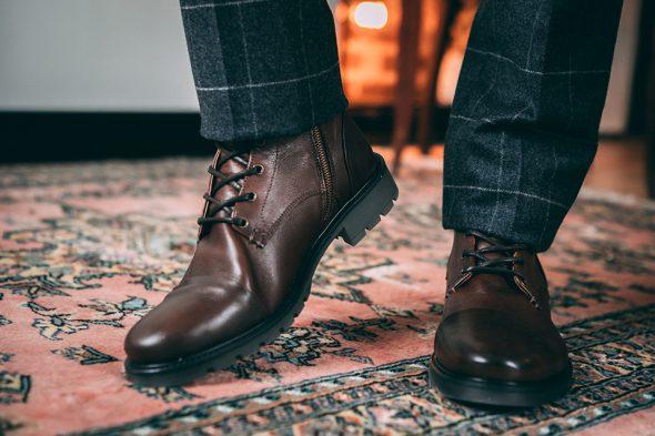 Boots Jules et Jenn marron