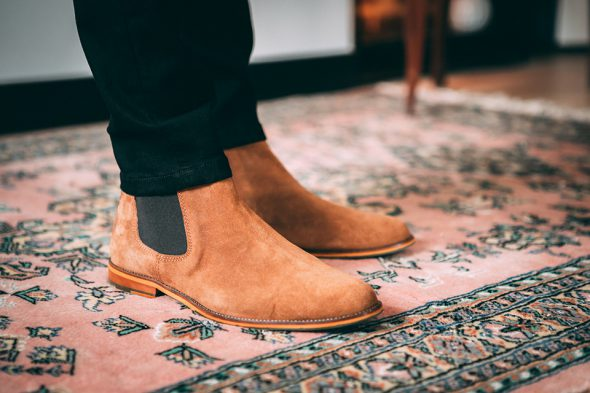Chelsea boots sparkes camel