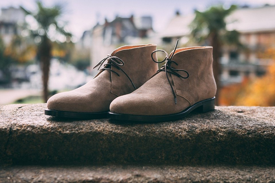 Chukka boots Ypsons vue d'ensemble