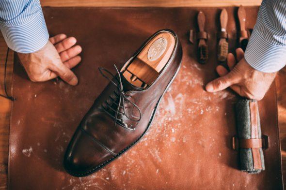 Comment Entretenir Chaussures Pluie Embauchoir
