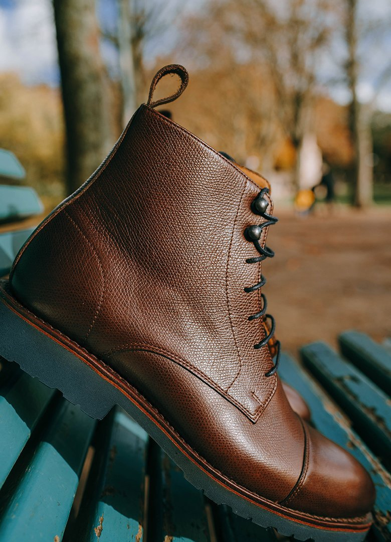 hardrige boots banc vertical