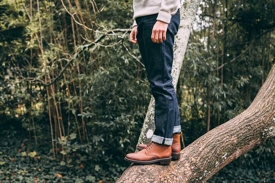 Associer Boots Jean
