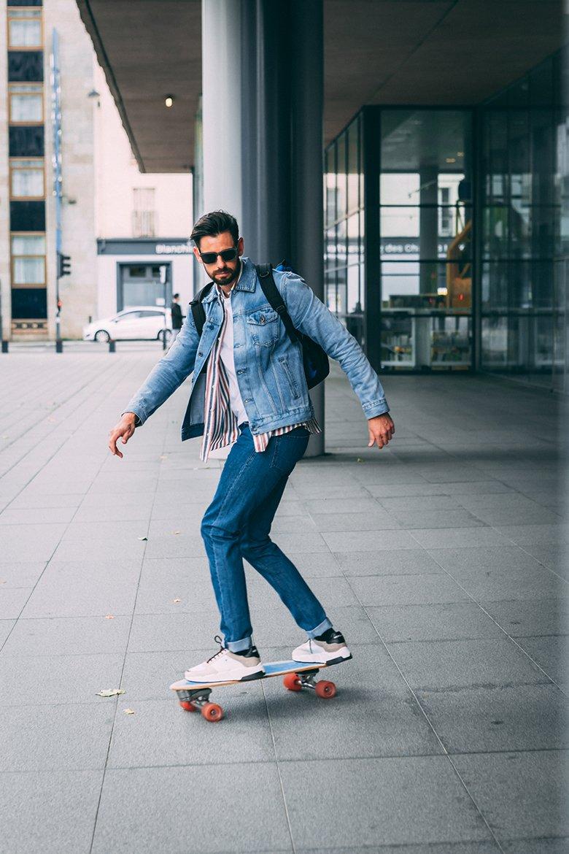 look homme surf skate