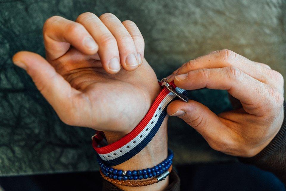 Montre Lip Dauphine Bracelet etape 1