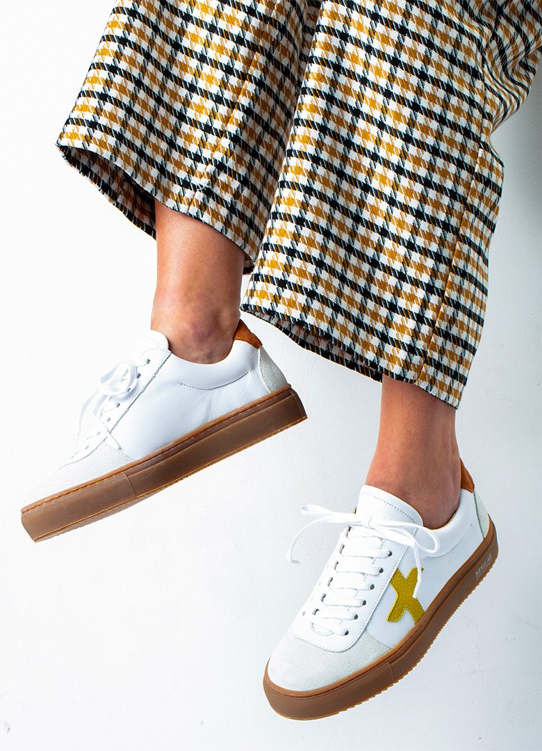 new lab sneakers blanches femmes