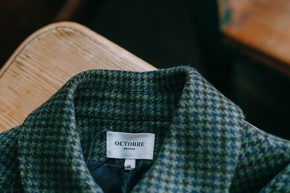 Octobre manteau Weldon zoom marque