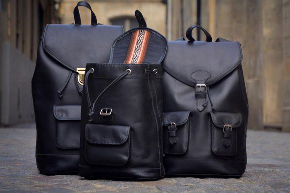 Pachamama sac à dos noir 3 exemplaires