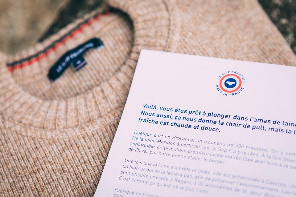 pull laine ludo le slip français test avis origine 1