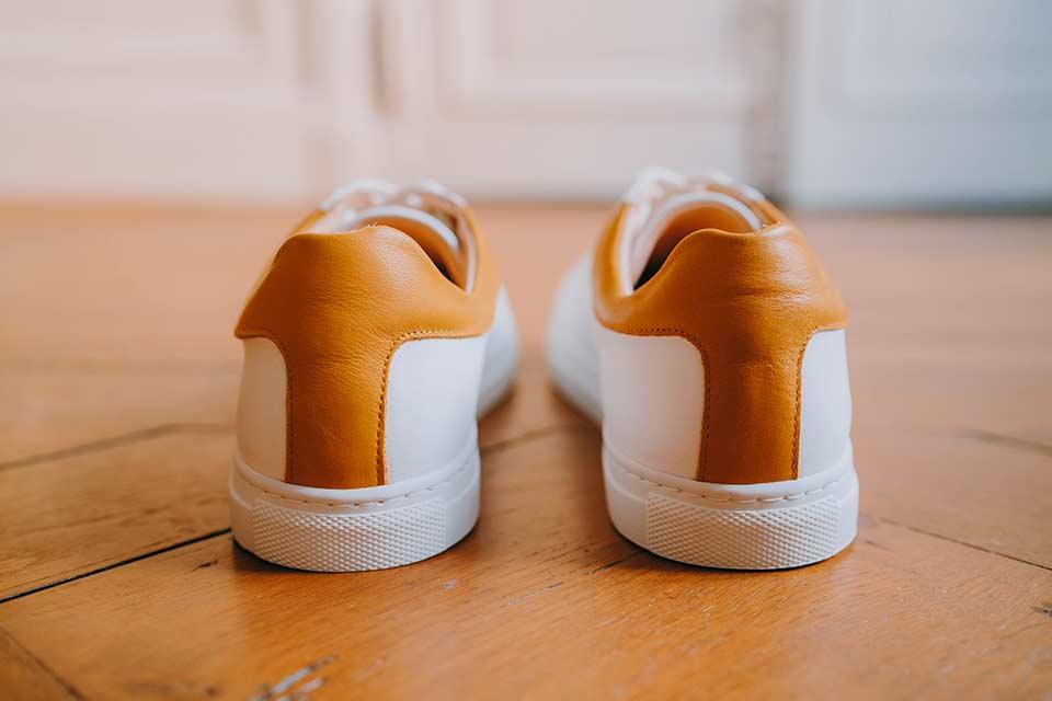 Cuir Jaune Sneakers
