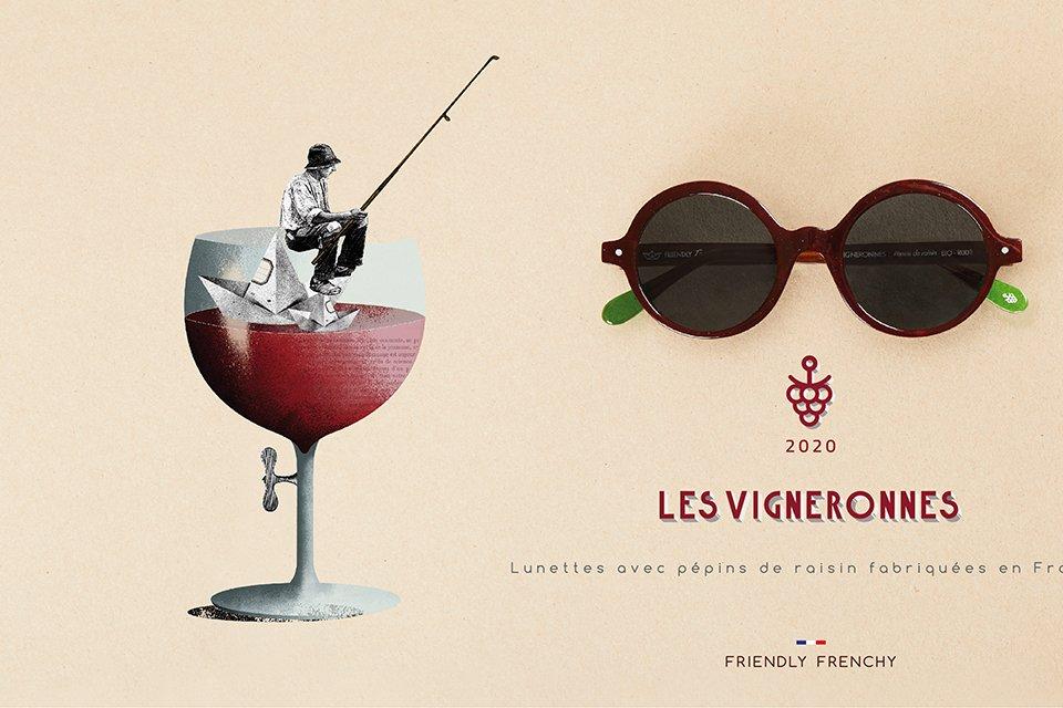 Lunettes Vigneronnes Friendly Frenchy affiche 2