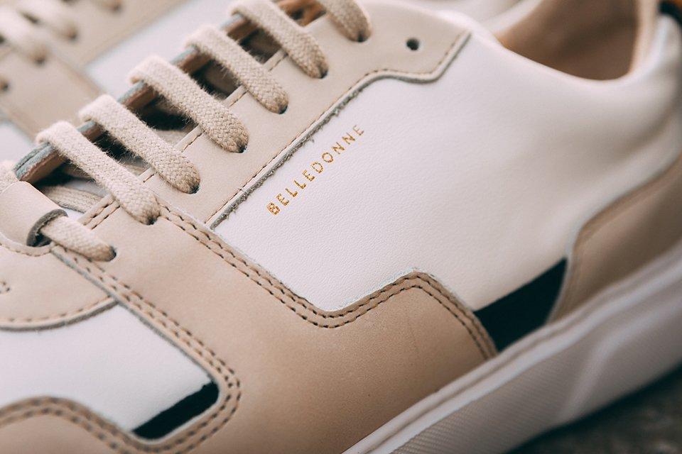 baskets belledonne b1 lacets marque