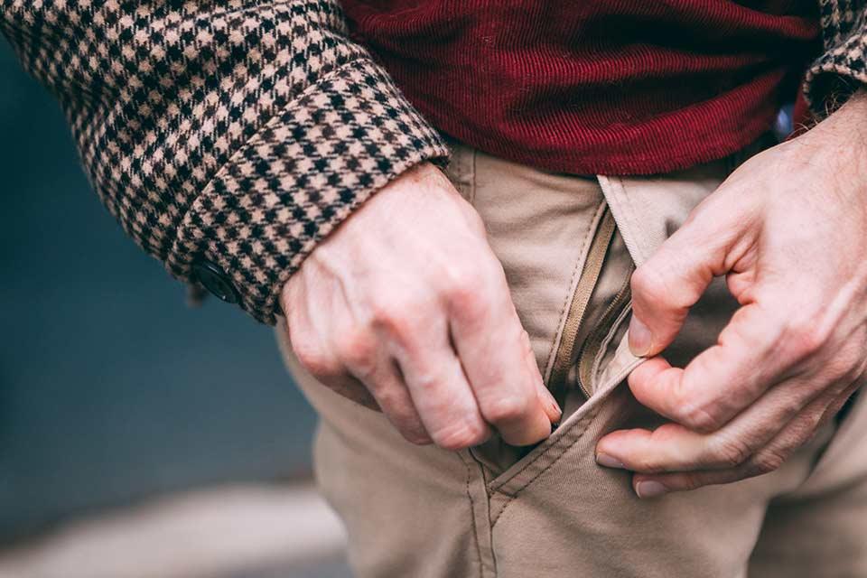 Poche Cachée Pantalon