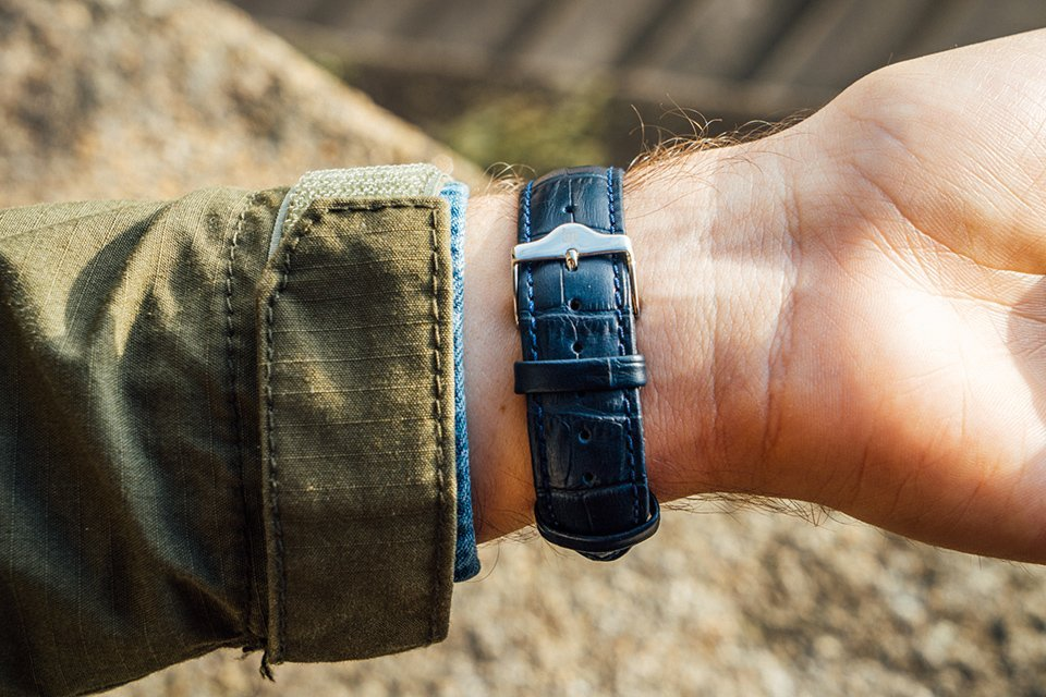 montre Lip Himalaya bracelet cuir