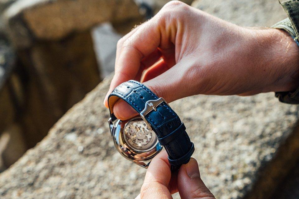 montre Lip Himalaya Squelette bracelet
