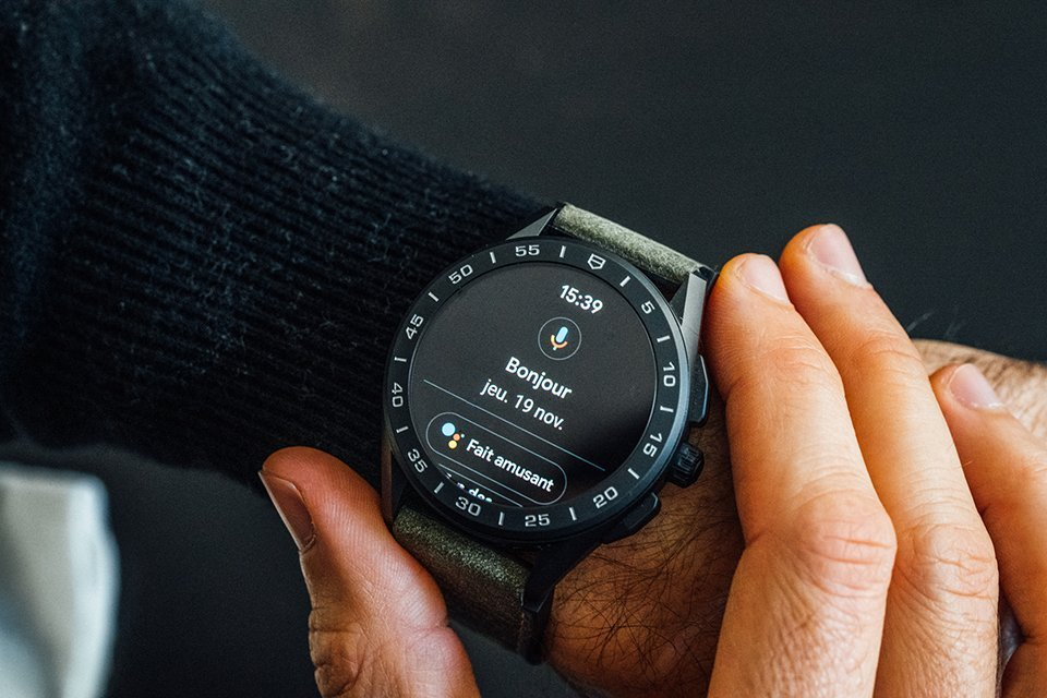 Montre Tag Heuer Connected OK Google