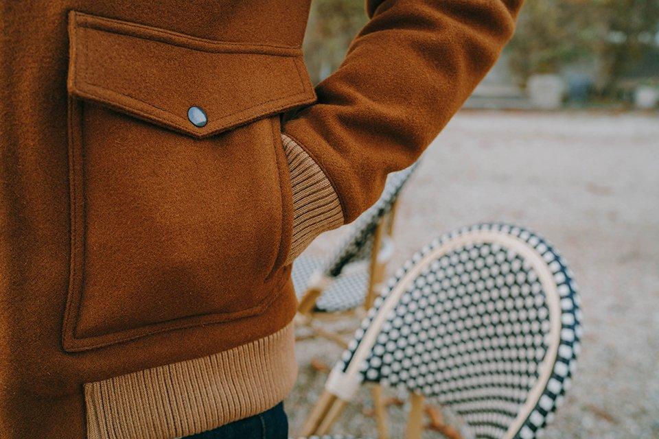 paname collections manteau poche externe