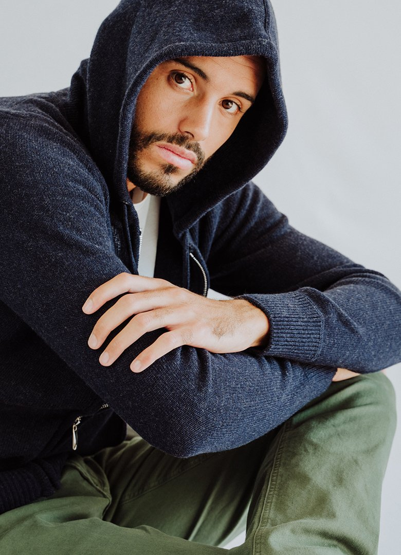 Paris yorker hoodie pure laine