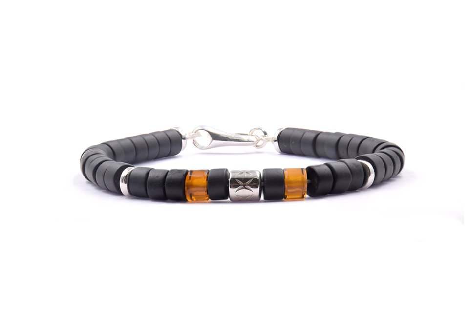 PPJ bracelet Heishi quartz