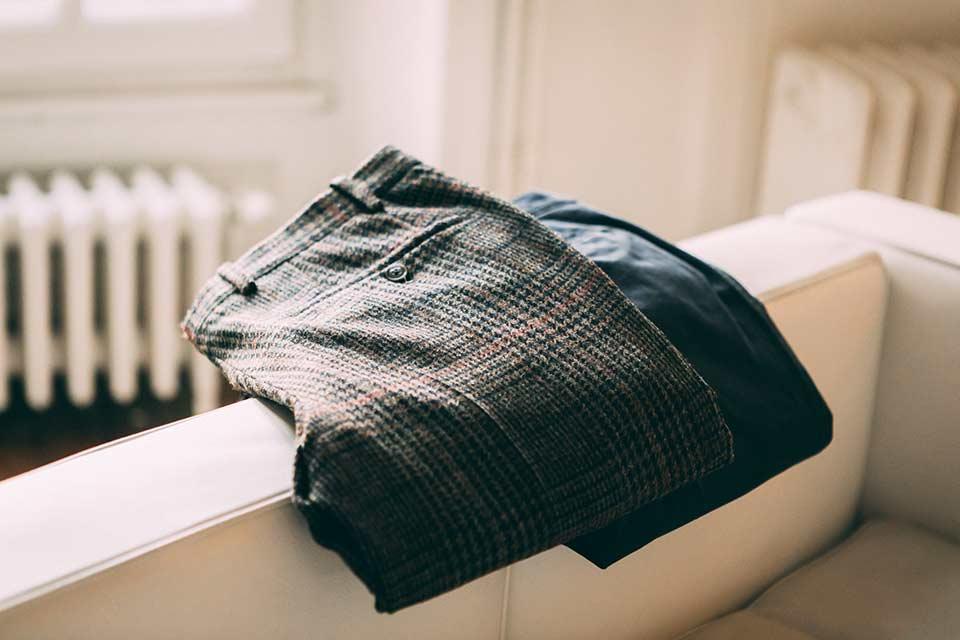 Test Pantalon Tweed