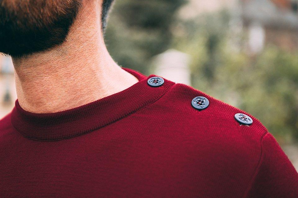 pull marin laine maison ft test avis focus boutonniere