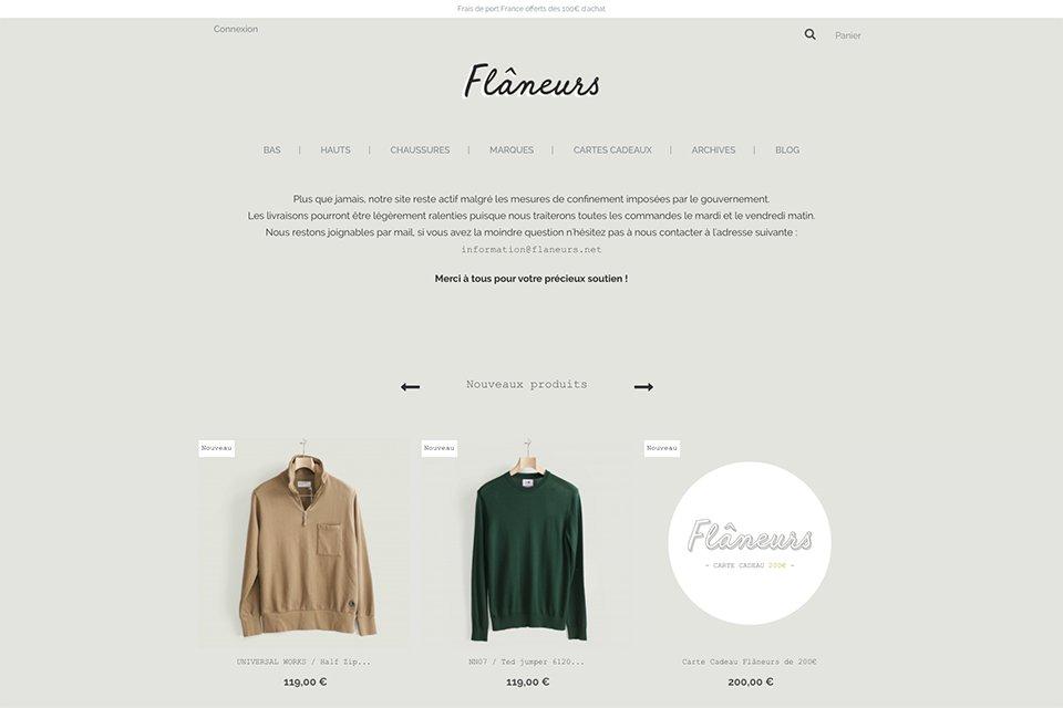 shop flaneurs