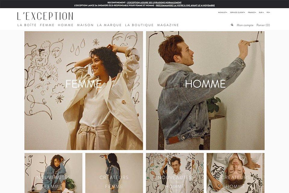 shop lexception