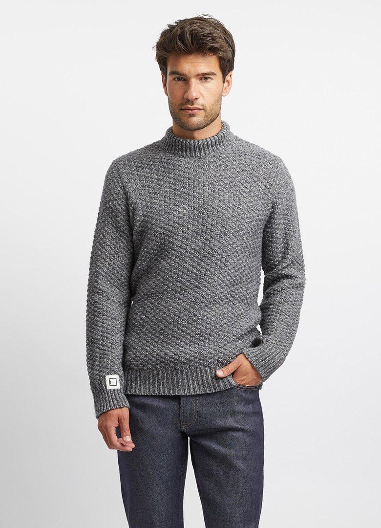 tricots jean marc avedis gris