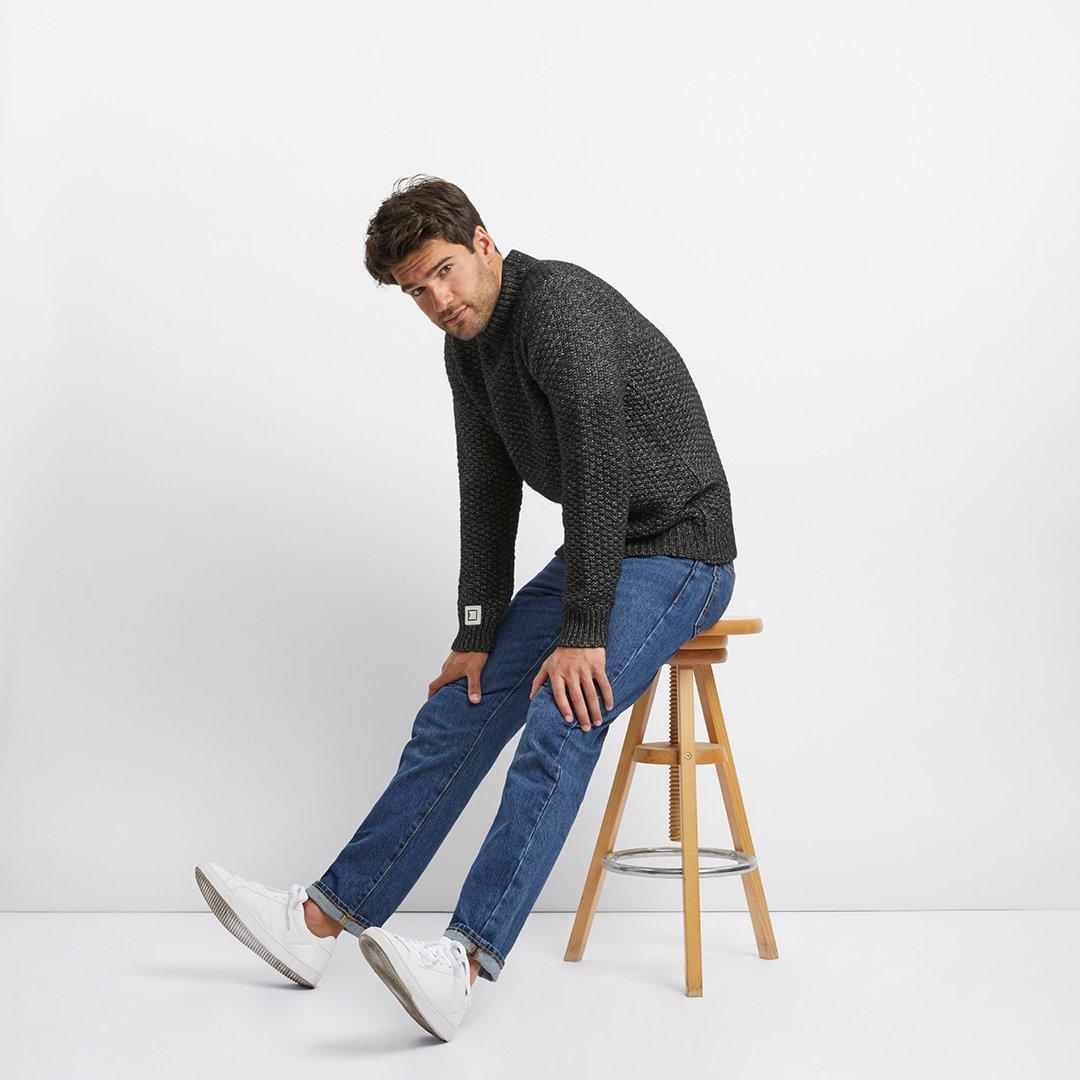 tricots jean marc avedis noir