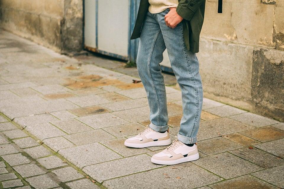 Vivien look jean chaussures