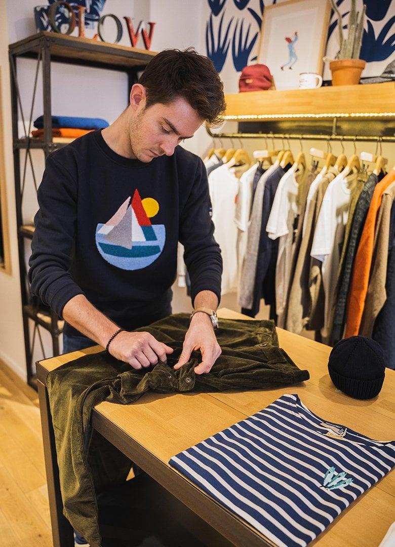 boutique olow pantalon table