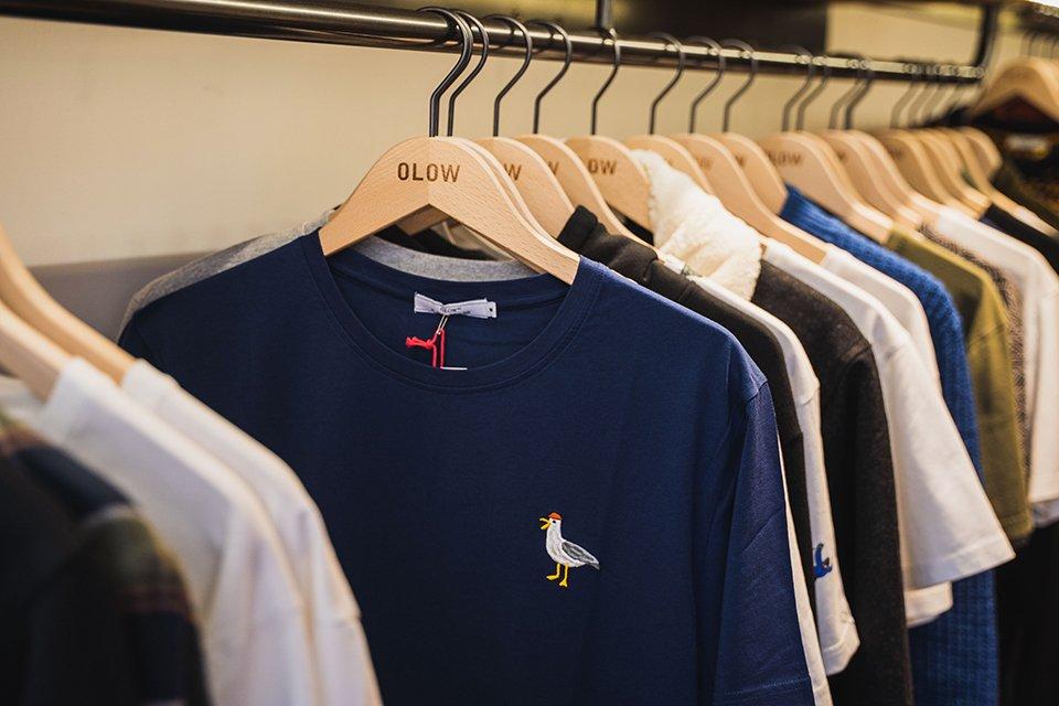 boutique olow tshirt mouette