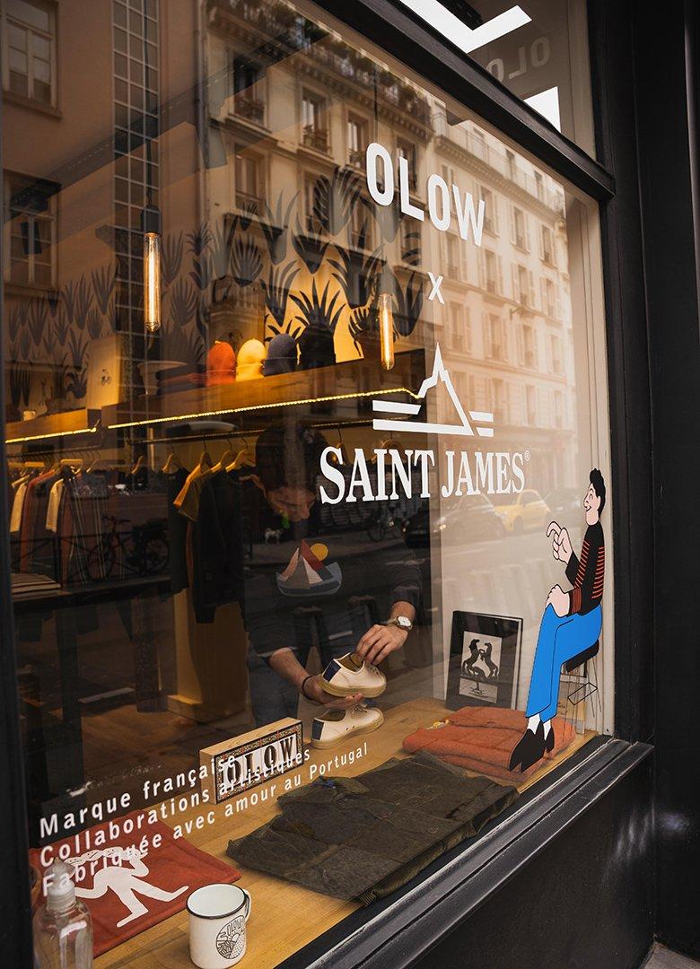 boutique olow vitrine
