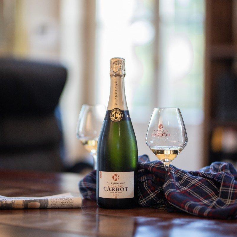 Champagne et echarpe coffret monsieur charli