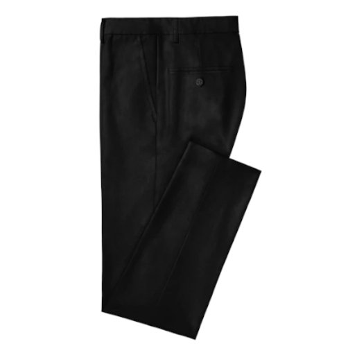 Chino Hockerty noir coutures