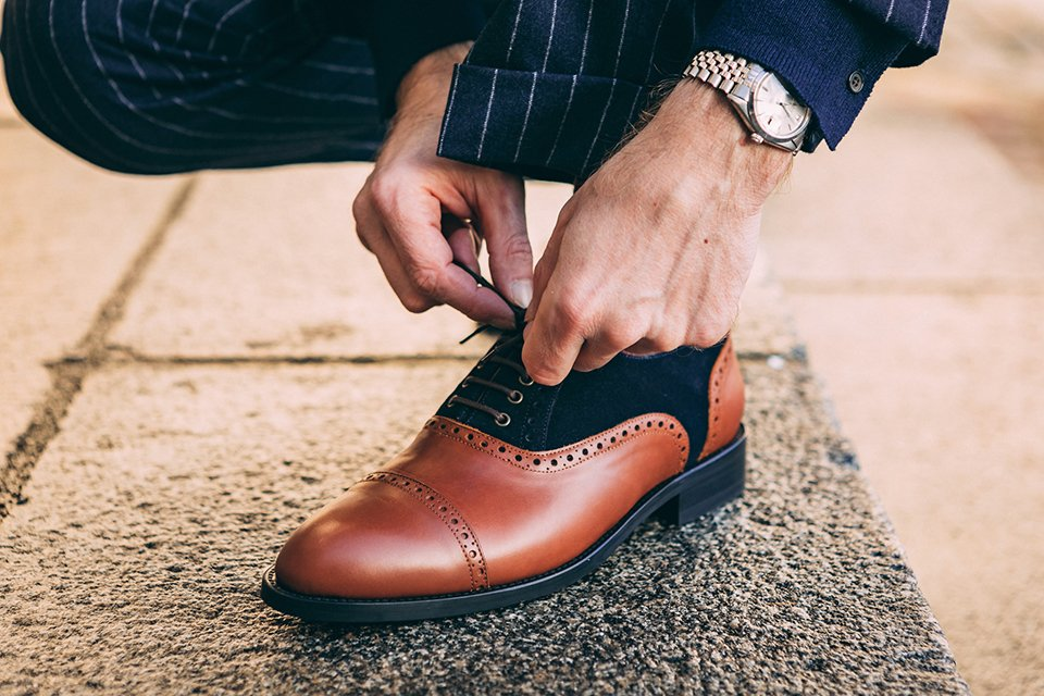 hockerty chaussures lacet montre