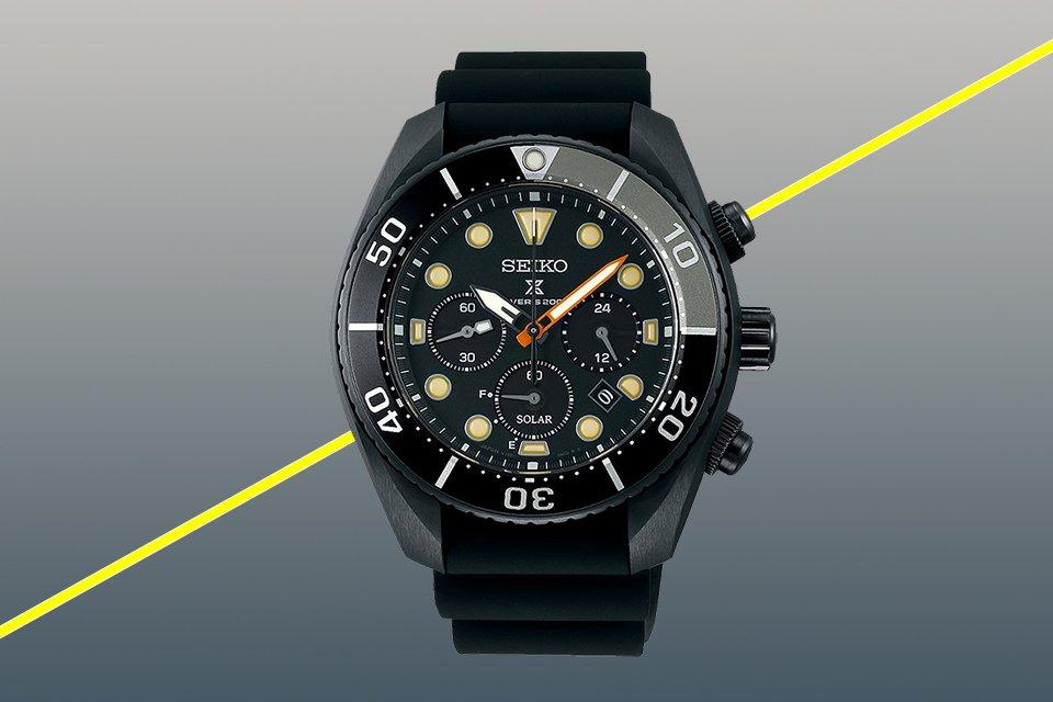 Montres 2020 Seiko Prospex Black Series