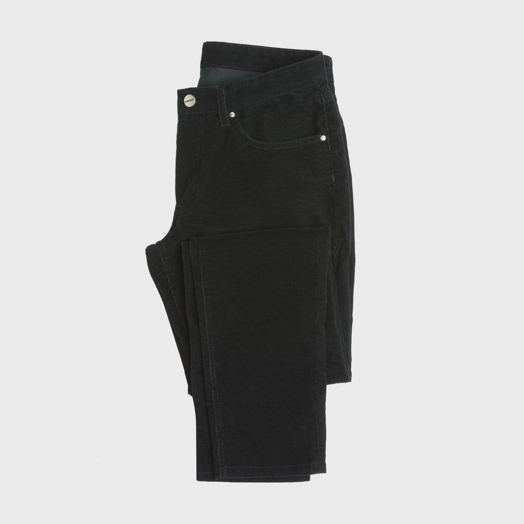 pantalon velours anthony garçon plié