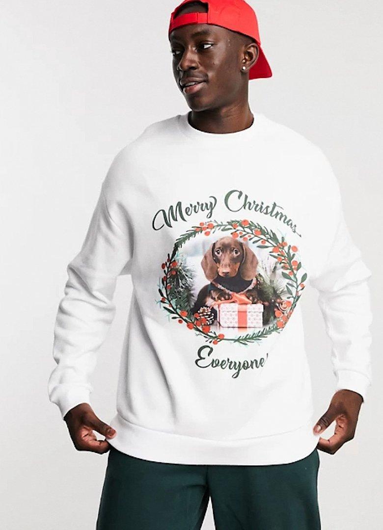 Pull de Noël teckel