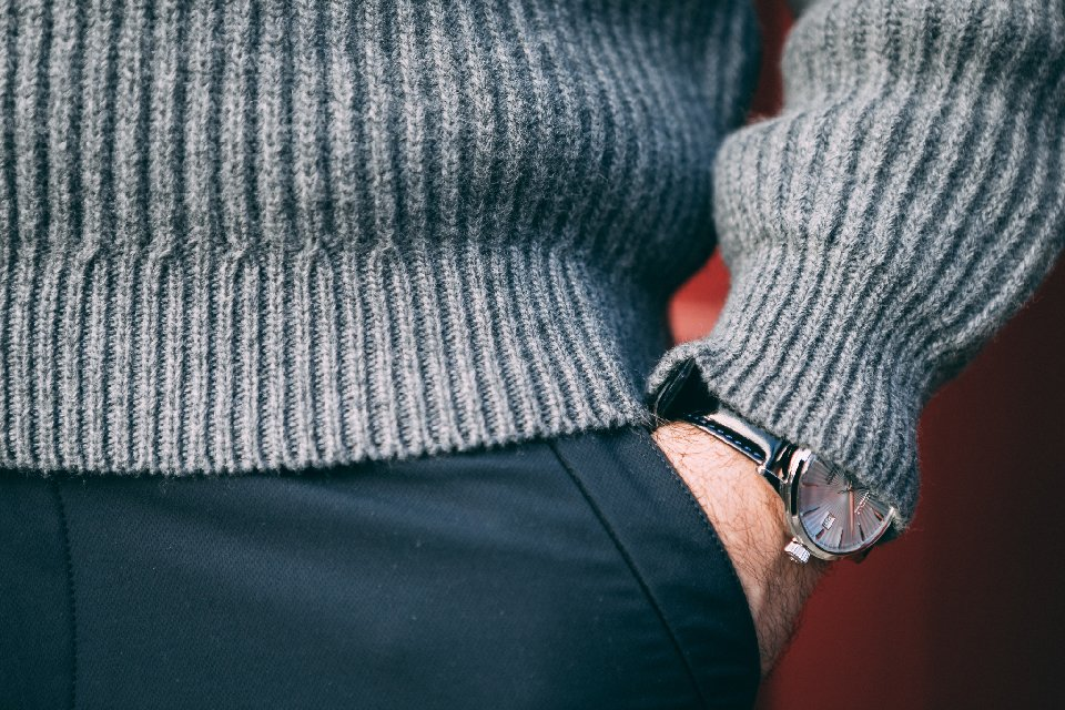 Pull-octobre-homme-maille-montre
