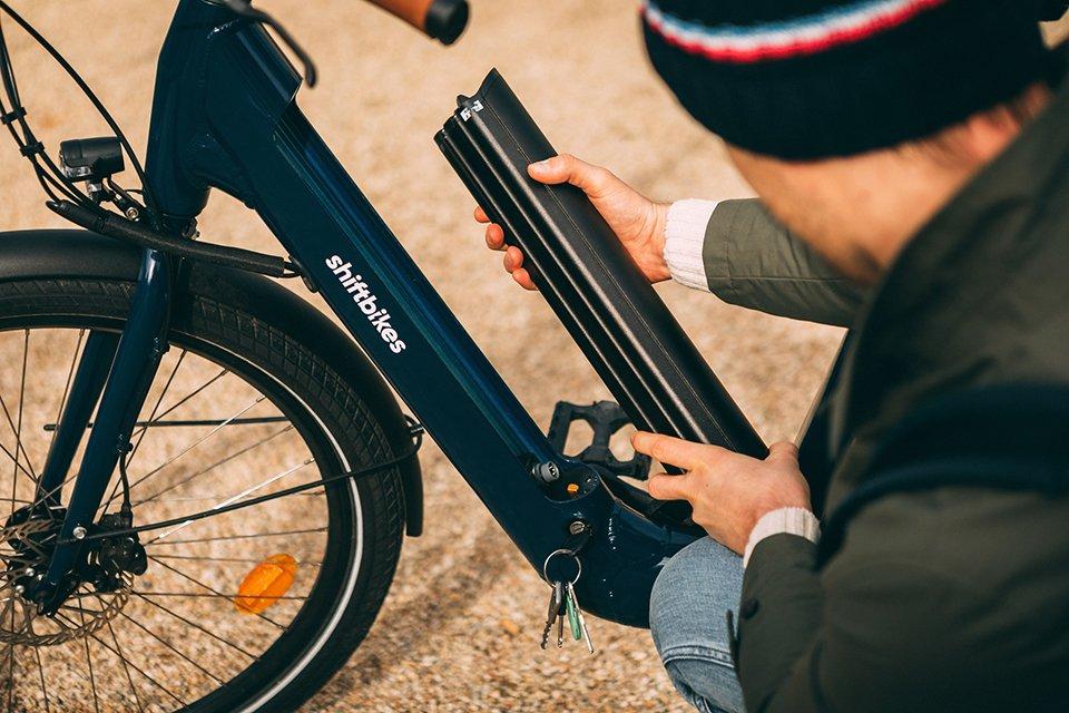 shiftbikes batterie retiree