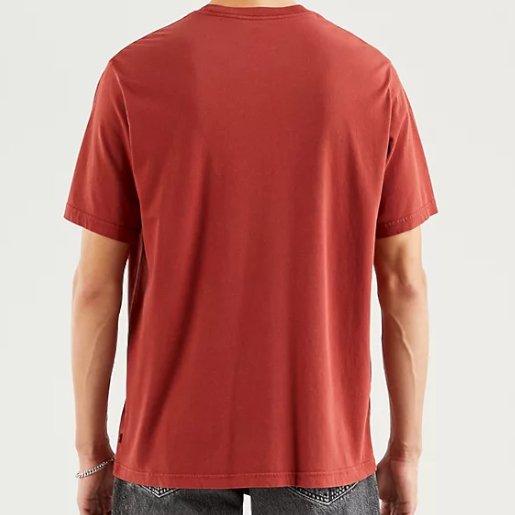 T-shirt Levi's brique dos