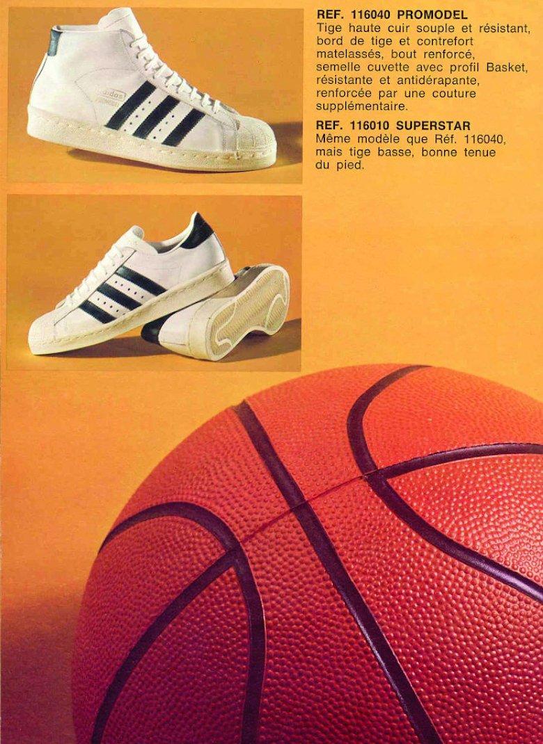 adidas superstar catalogue ancien