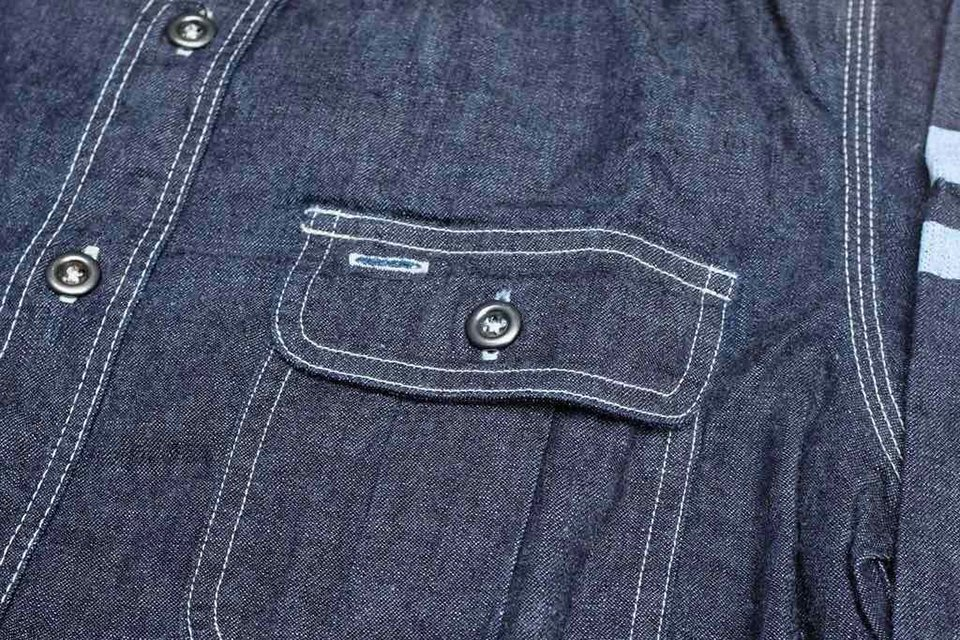 chemise brute selvedge