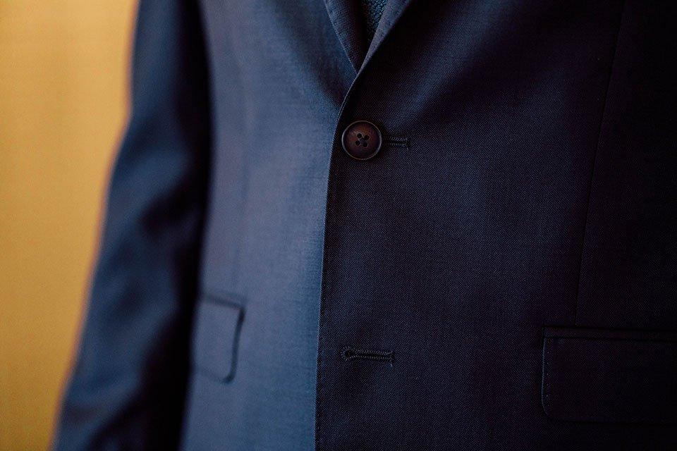 Costume Bleu Homme